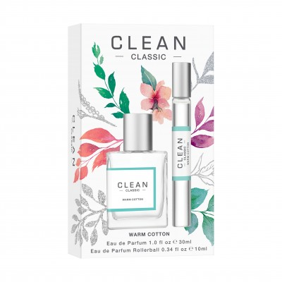Clean Warm Cotton EDP Set 30 ml + 10 ml