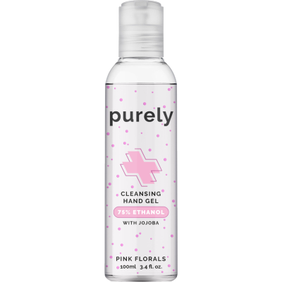 So...? Purely Cleansing Pink Floral Hand Gel 100 ml