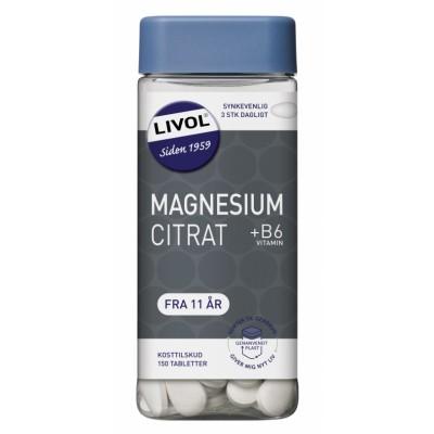 Livol Mono Normal MagnesiumCitrat 150 st