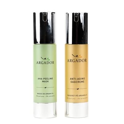 Argador Morning Set AHA-Peeling & Dagcreme 2 x 50 ml