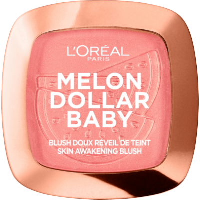 L'Oreal Wake Up & Glow Blush 03 Melon Dollar Baby 9 g