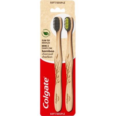Colgate Bamboo Charcoal Soft 2 stk