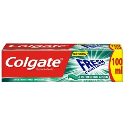 Colgate Fresh Confidence Refreshing Green 100 ml
