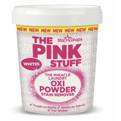 Stardrops The Pink Stuff The Pink Stuff Stain Remover Powder Whites 1000 g