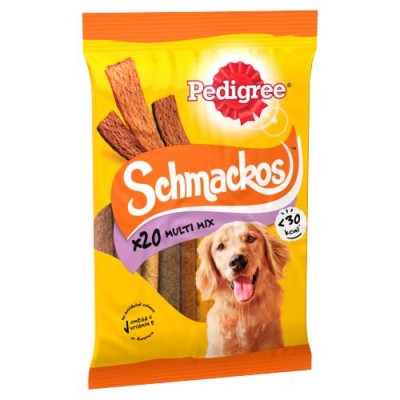 Pedigree Dog Schmackos Meat Variety Sticks 20 stk