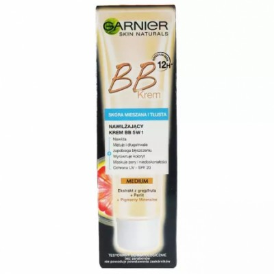 Garnier BB Cream 5-In-1 Oil Free Medium 40 ml