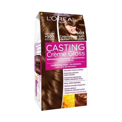 L'Oreal Casting Creme Gloss 503 Golden Chocolate 1 pcs