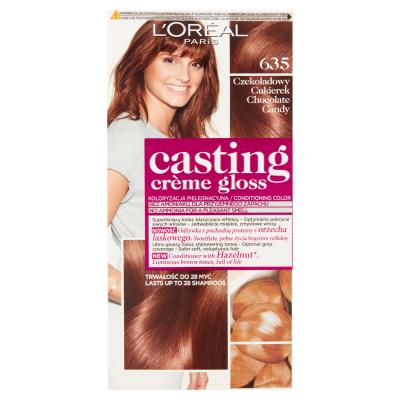 L'Oreal Casting Creme Gloss 635 Chocolate Candy 1 pcs