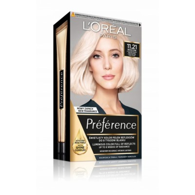 L'Oreal Preference 11.21 Moscow Ultra-Light Reflexes 1 stk