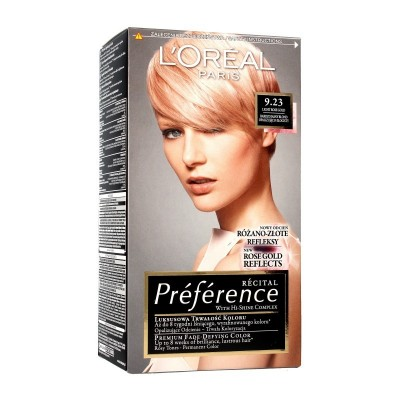 L'Oreal Preference 9.23 Pure Rose Gold 1 st