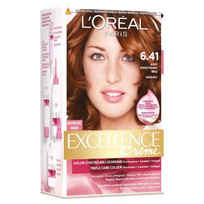 L'Oreal Excellence Creme Hair Color 6.41 Hazelnut 1 pcs