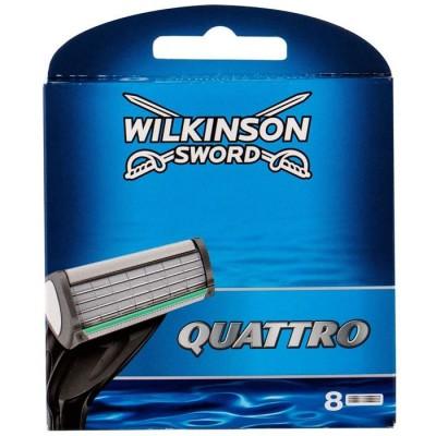 Wilkinson Sword Quattro vaihtoterät 8 kpl