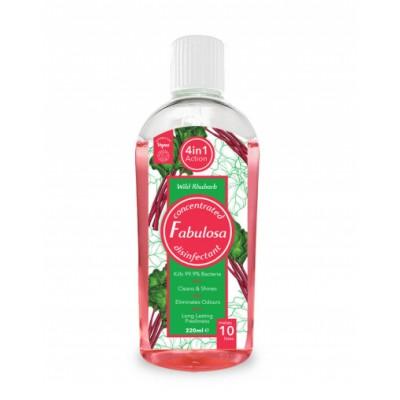 Fabulosa 4in1 Disinfectant Rhubarb 220 ml