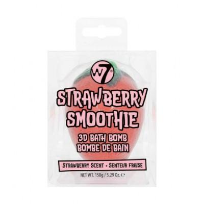W7 3D Bath Bomb Strawberry Smoothie 150 g
