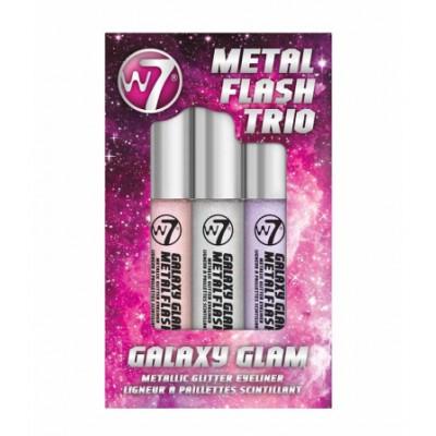 W7 Metal Flash Eyeliner Trio Galaxy Glam 3 x 7 ml
