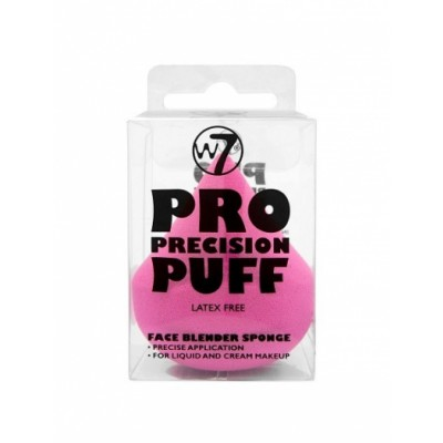 W7 Pro Precision Puff Face Blender Sponge 1 st