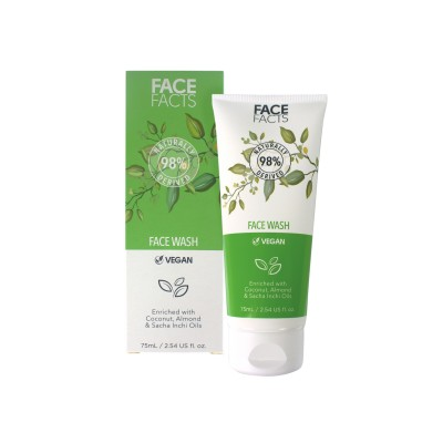 Face Facts 98% Natural Face Wash 75 ml