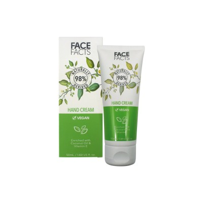 Face Facts 98% Natural Hand Cream 50 ml