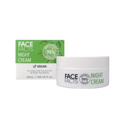 Face Facts 98% Natural Night Cream 50 ml