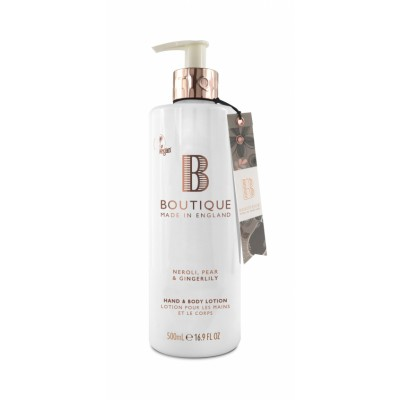 Boutique Neroli & Pear & Gingerlily Hand & Body Lotion 500 ml