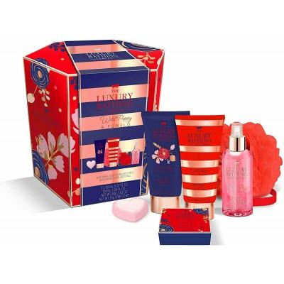 The Luxury Bathing Company Bright Bathing Gift Set 2 x 150 ml + 100 ml + 25 g + 80 g + 1 st