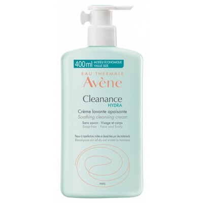 Avéne Thermale Cleanance Hydra Soothing Cleansing Cream 400 ml