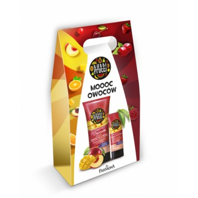 Tutti Frutti Peach & Mango Body Balm & Hand Cream Set 200 ml + 75 ml
