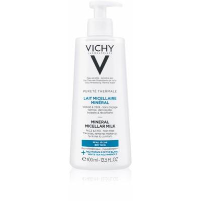 Vichy Pureté Thermale Mineral Micellar Milk Dry Skin 400 ml