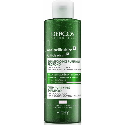 Vichy Dercos Anti Dandruff Deep Purifying Shampoo 250 ml