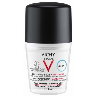 Vichy Homme 48H Anti-Perspirant Anti Stains 50 ml