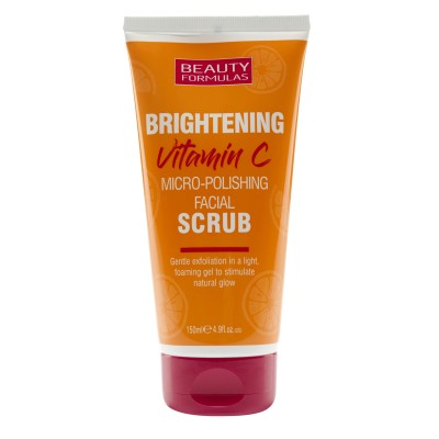 Beauty Formulas Brightening Vitamin C Micro Polishing Facial Scrub 150 ml