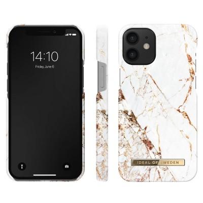 iDeal Of Sweden Fashion Case iPhone 12 Mini Carrara Gold iPhone 12 Mini