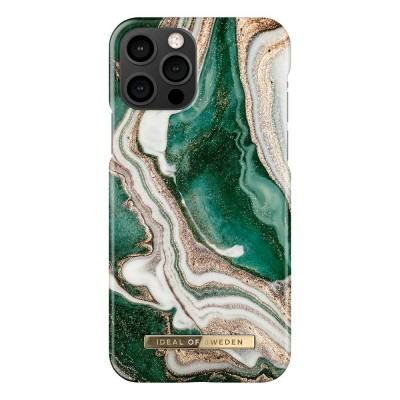iDeal Of Sweden Fashion Case iPhone 12 & iPhone 12 Pro Golden Jade Marble iPhone 12 & iPhone 12 Pro