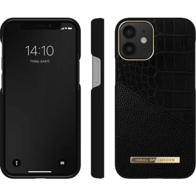iDeal Of Sweden Atelier Case iPhone 12 Mini Nightfall Croco iPhone 12 Mini