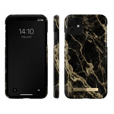 iDeal Of Sweden Fashion Case iPhone 12 Mini Golden Smoke Marble iPhone 12 Mini