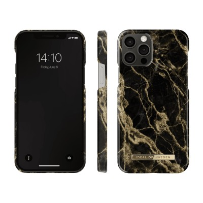 iDeal Of Sweden Fashion Case iPhone 12 Pro Golden Smoke Marble iPhone 12 Pro
