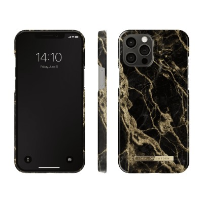 iDeal Of Sweden Fashion Case iPhone 12 Pro Max Golden Smoke Marble iPhone 12 Pro Max