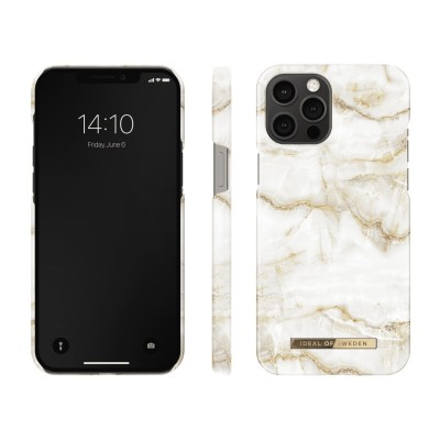 iDeal Of Sweden Fashion Case iPhone 12 Pro Max Golden Pearl Marble iPhone 12 Pro Max
