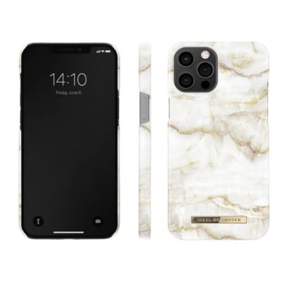 iDeal Of Sweden Fashion Case iPhone 12 & iPhone 12 Pro Golden Pearl Marble iPhone 12 & iPhone 12 Pro