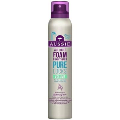 Aussie Pure Locks Foam Conditioner 180 ml