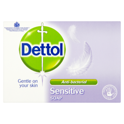 Dettol Anti Bacterial Soap Sensitive 100 g