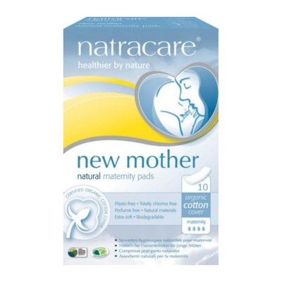 NatraCare New Mother Maternity Pads 10 kpl