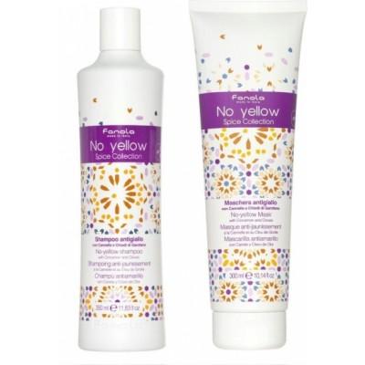 Fanola No Yellow Spice Collection Shampoo & Hair Mask Duo Set 350 ml + 300 ml