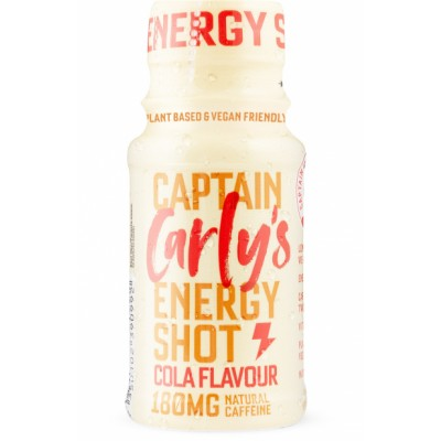 Carly's Natural Energy Shot Cola Flavour 180 mg