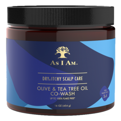 As I Am Dry and Itchy Co-Wash With Olive & Tea Tree Oil 454 g