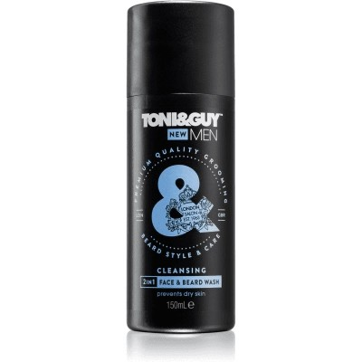 Toni & Guy Face & Beard Wash 2in1 Cleansing 150 ml