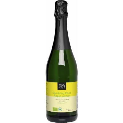 Urtekram Alcohol Free Sparkling Apple Lemon Must 750 ml