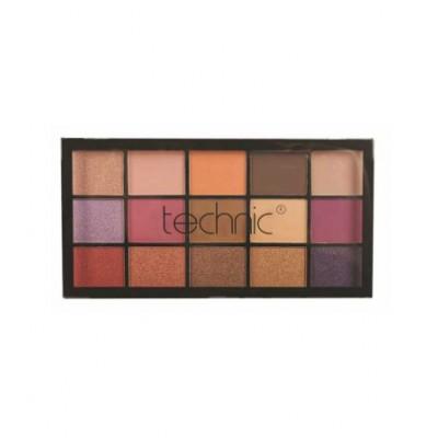 Technic Pressed Pigments Eyeshadow Palette Persian Violet 30 g