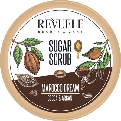 Revuele Marocco Dream Cocoa & Argan Sugar Scrub 200 ml