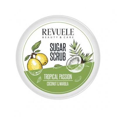 Revuele Tropical Passion Coconut & Marula Sugar Scrub 200 ml